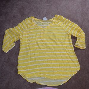St. John's Bay Ladies 3/4 sleeve blouse XL